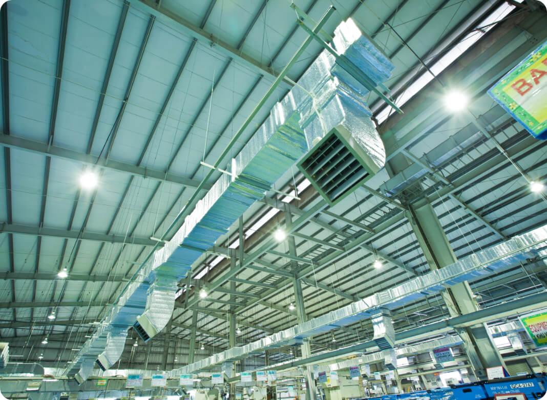 Lắp đặt hệ thống ống gió cửa gió tại công ty TNHH Hal Việt Nam