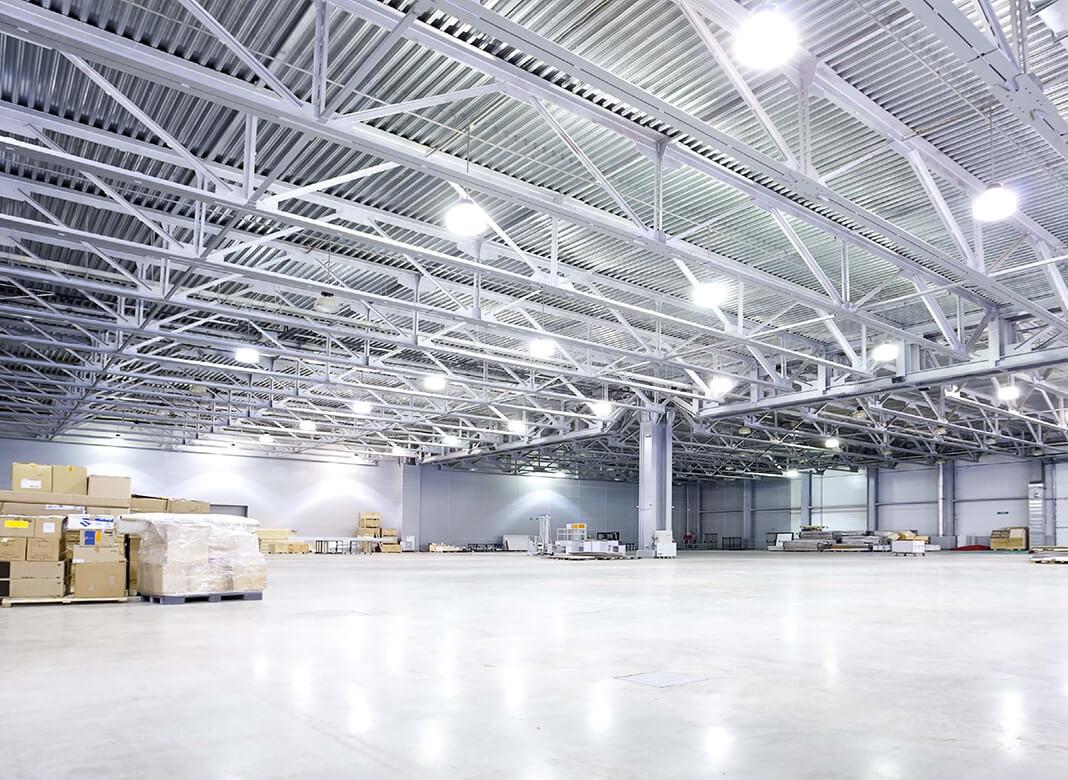 Lắp đặt hệ thống đèn chiếu sáng Highbay cho nhà xưởng