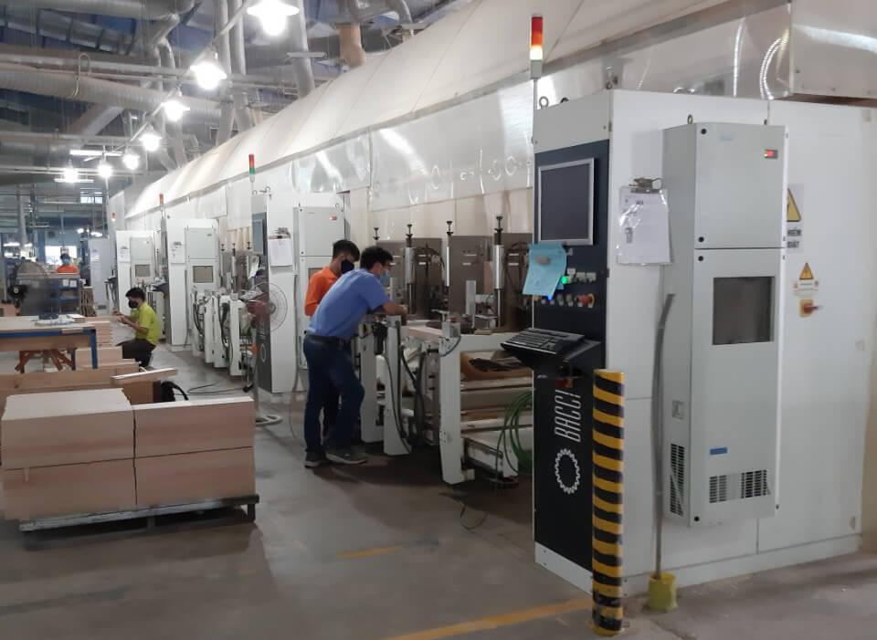 Lắp đặt máy làm mát tủ điện Dindan cho tủ điều khiển