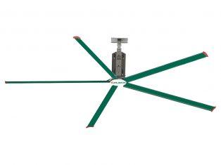 Quạt sải cánh dài động cơ hộp số Emaxx-HVLS
