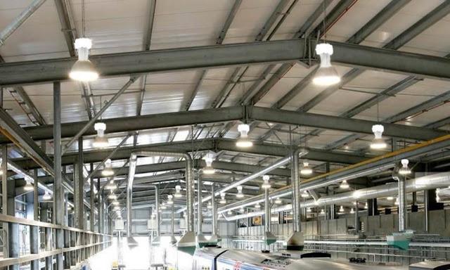 Tại sao nên sử dụng đèn LED High Bay cho nhà xưởng?