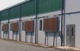 Giải pháp làm mát nhà xưởng bằng tấm làm mát cooling pad có lợi thế gì?