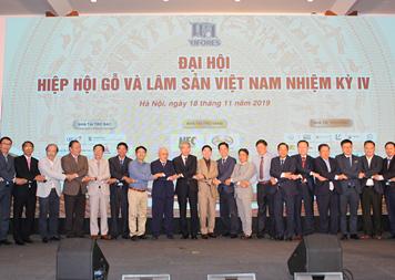 Đại hội Hiệp hội gỗ & lâm sản Việt Nam