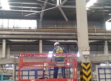 Có nên sử dụng quạt trần công nghiệp cho nhà máy không?